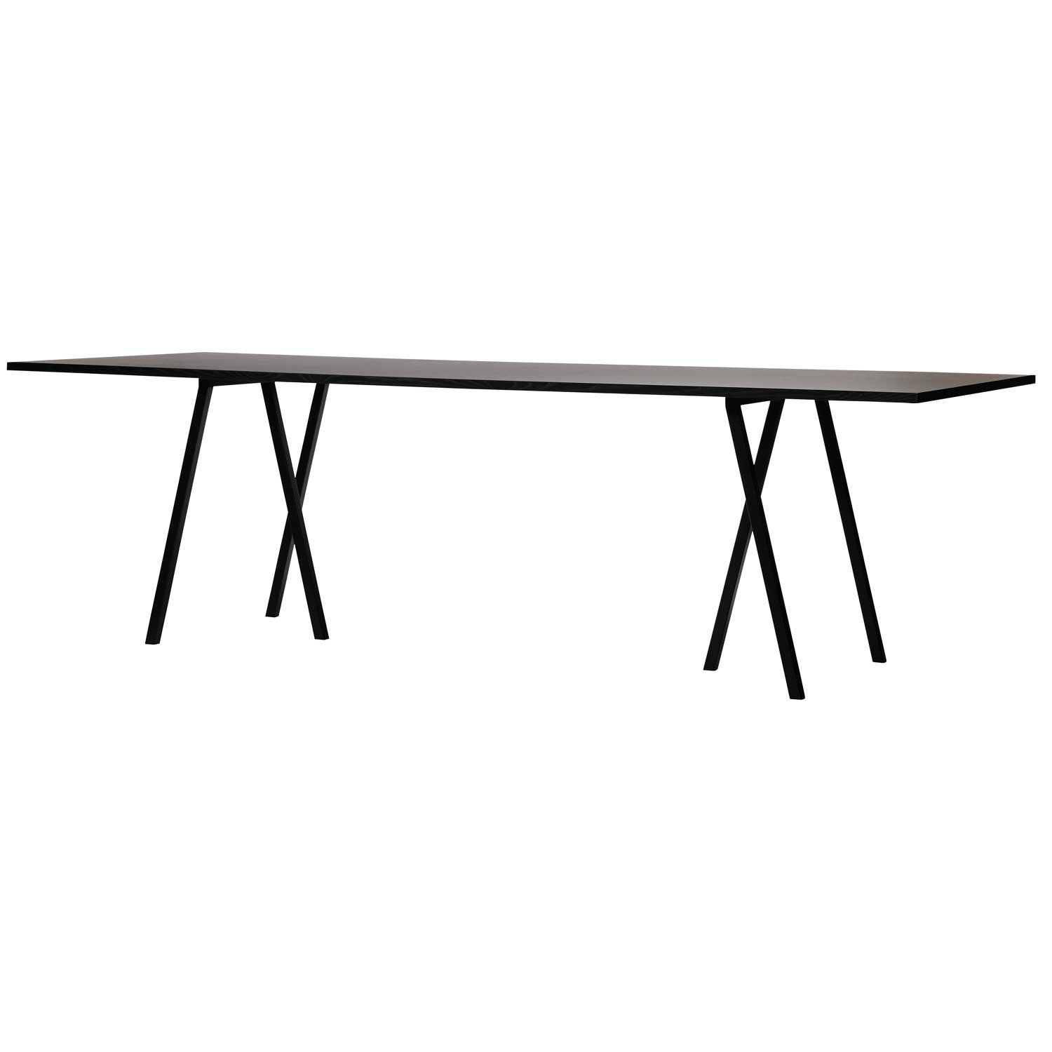 Loop Stand Table bord 200 cm, sort
