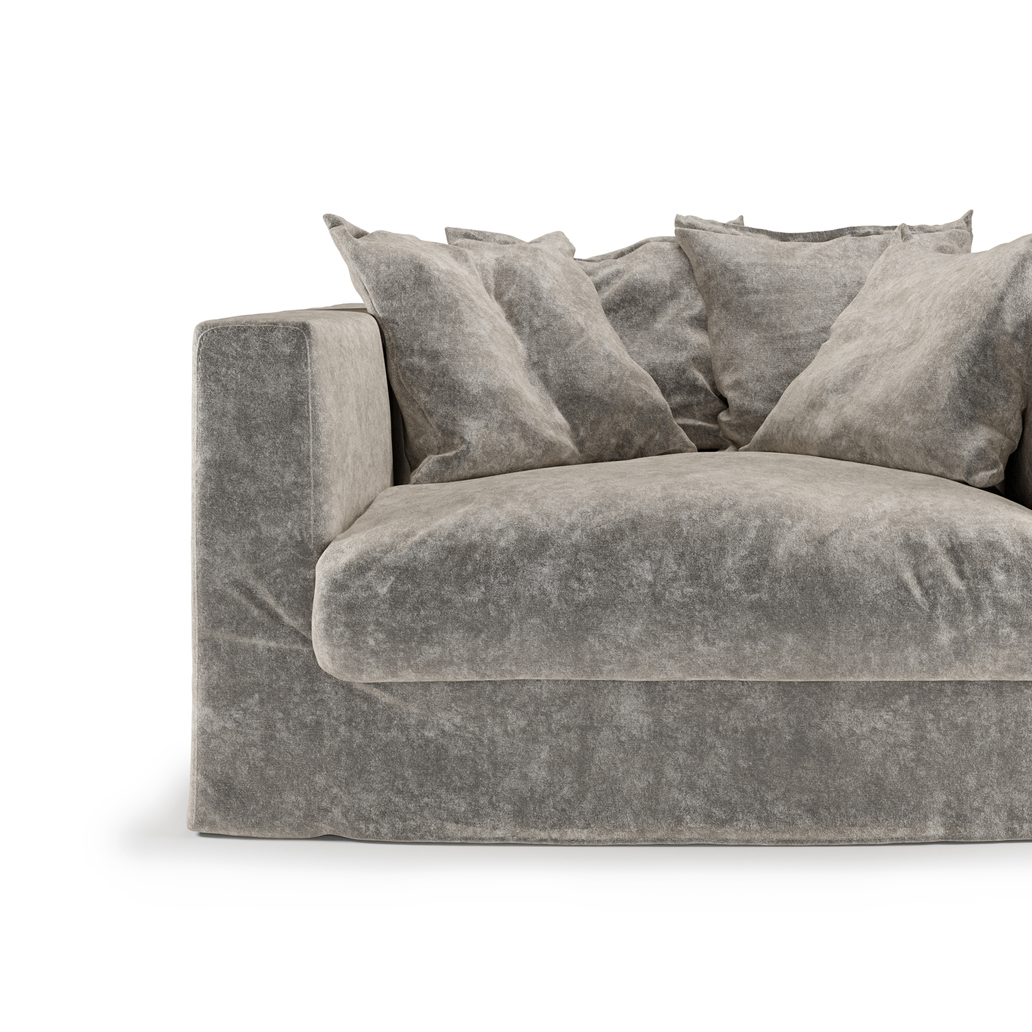 Le Grand Air Loveseat betræk, Concrete