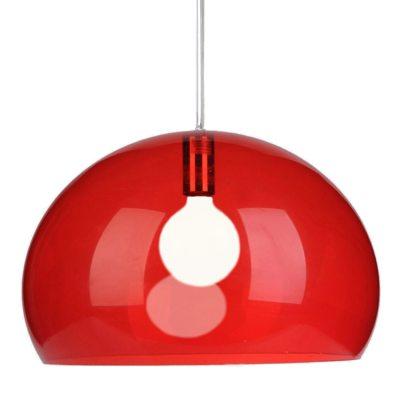 FL/Y loftlampe, r�d