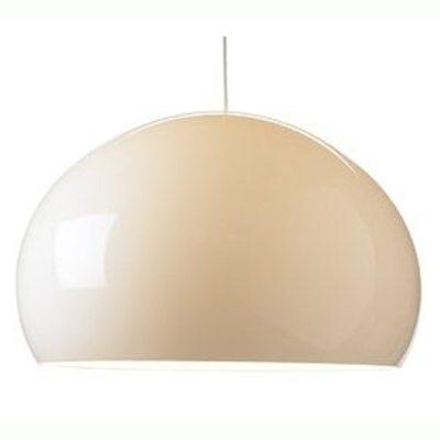 FL/Y loftlampe, hvid från Kartell - Køb møbler online på ROOM21.dk