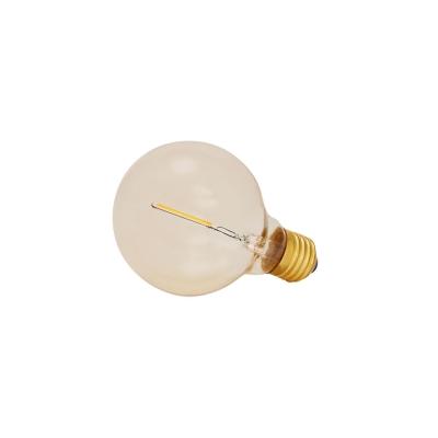 Atelier Lights fra Frama er en kollektion af glødelamper som er designet i forskellige flotte former. Designet til at få et varmt og behageligt lys, gennem mange og lineære filamenter som giver et modernet udtryk. Glødelampen i LED giver en stærk karakter, både alene og i en gruppe med flere. Findes i farvet glas som kommer med ufuldkommenheder for at give et autentisk udtryk. Atelier Lights kollektionen passer E27.