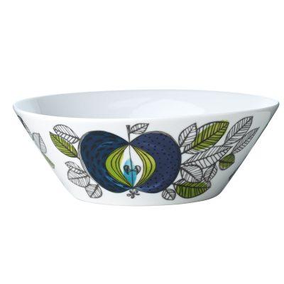 Eden skål fra Rörstrand, designet af Sigrid Richter. En smuk skål i porcelæn med et unikt mønster som fanger øjet og fantasien.