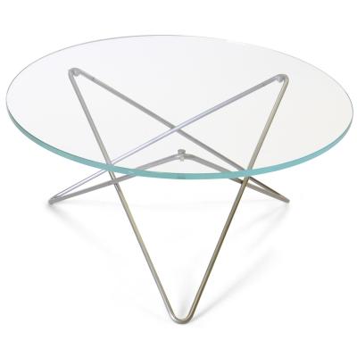 O sofabord, glas/rustfrit – ox denmarq – køb møbler online pÃ¥ ...