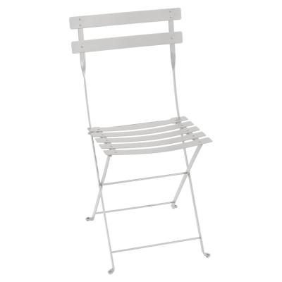 Bistro Metal stol, steel grey thumbnail