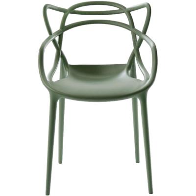 Masters stol, sage green thumbnail