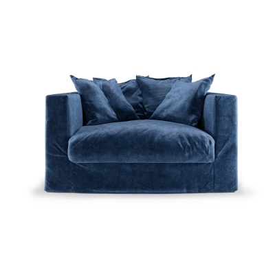 Le Grand Air Loveseat, Midnight Blue i gruppen Møbler / Lænestole / Lænestole hos ROOM21.dk (1036739)