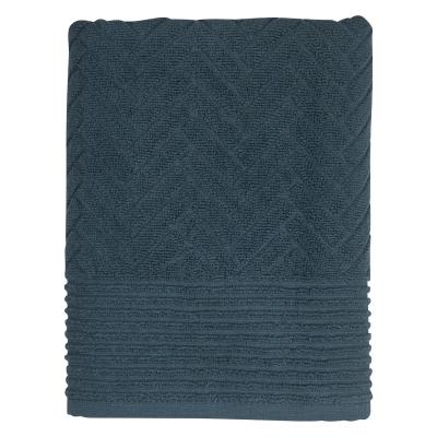 Brick badeh�ndkl�de 70x133cm, midnight blue