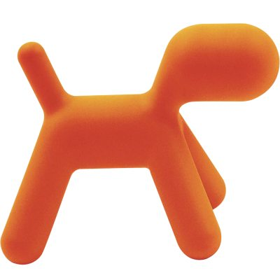 Puppy medium orange