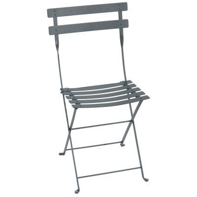 Bistro Metal stol storm grey