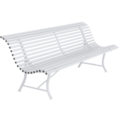 Louisiane sofa 200 cotton white
