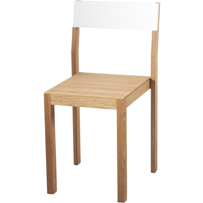 A2 Happy stol, hvid