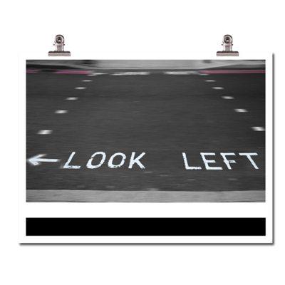 look-left-plakat