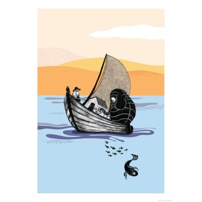 The Boat plakat