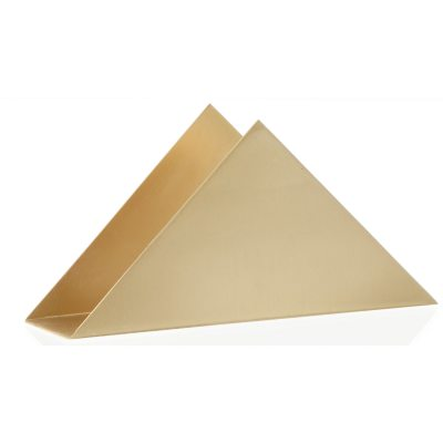 Triangle holder, messing