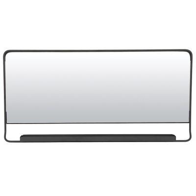 Chic spejl med hylde thumbnail