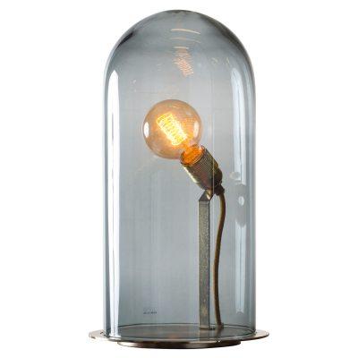 Speak Up! bordlampe M, r�ggr�/messing
