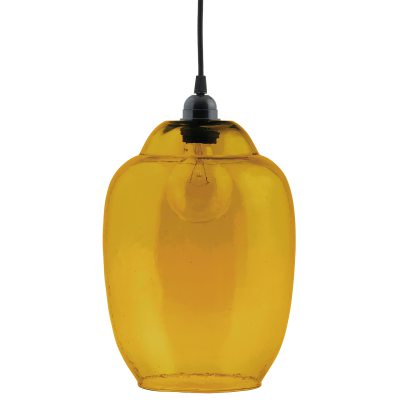 Goal lampeskærm gul