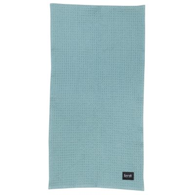 Organic håndklæde dusty blue