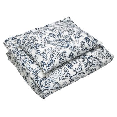 Old Paisley sengetøj enkel, blå thumbnail