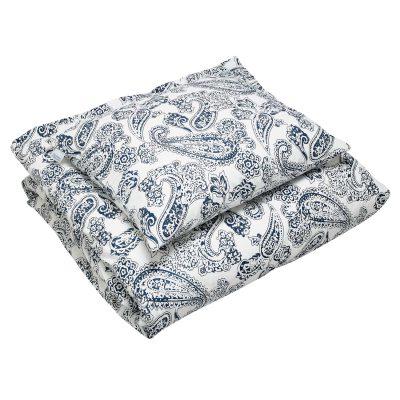 Old Paisley sengetøj dobbel, blå thumbnail