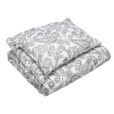 Old Paisley sengetøj enkel, grå thumbnail