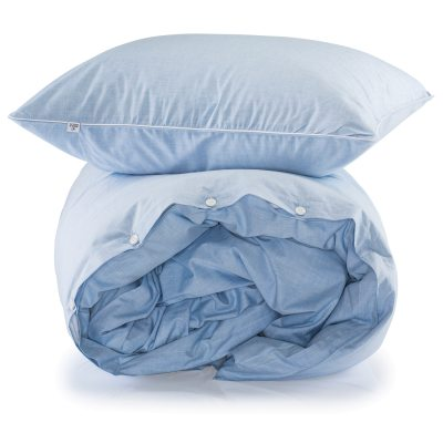 Gelato sengetøjssæt enkel blå
