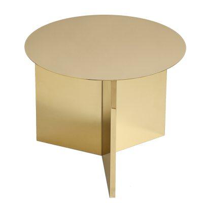 Slit roung bord, messing/spejlglas – hay – køb møbler online pÃ¥ ...
