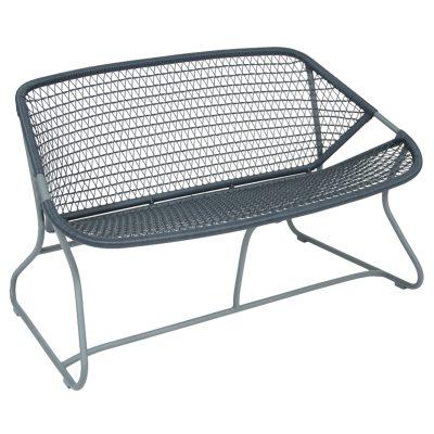 Sixties bænk, storm grey – Fermob – Køb møbler online pÃ¥ ROOM21.dk