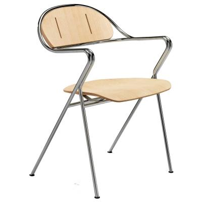 Bruno Mathsson BM65 stol, ask natur