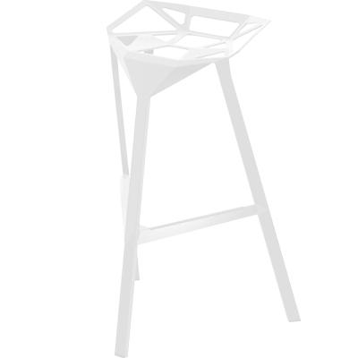 Stool_One barstol høj hvid