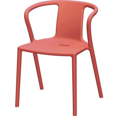 Air Armchair stol m. armlæn, orange thumbnail