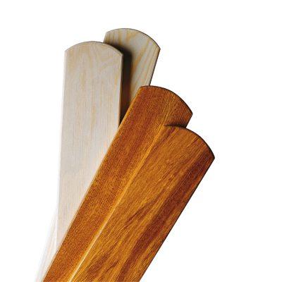 Træsæt A2 efter 1960 45 cm teak ubehandlet