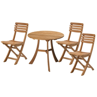Vendia cafésæt, 1 bord + 3 stole thumbnail