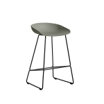 About a Stool 38 barstol h65, dusty green/sort