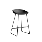 About a Stool 38 barstol h65, soft black/sort