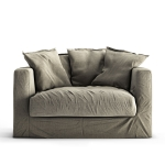 Le Grand Air Loveseat, Moleskin