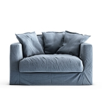 Le Grand Air Loveseat, Dusky Gloom
