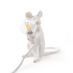 Mouse lampe, siddende