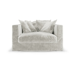 Le Grand Air Loveseat, Off White