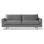 Stay 3-pers. sofa, sort/hvid