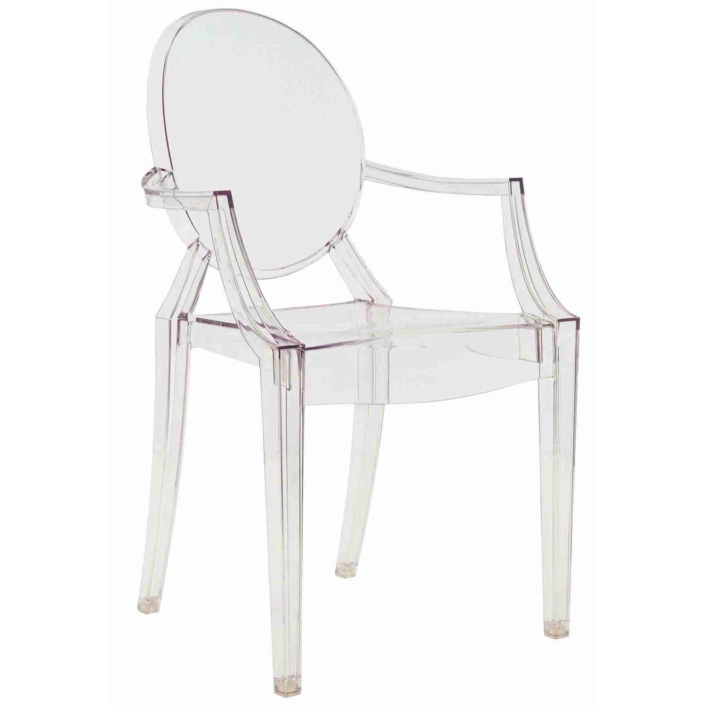 Louis Ghost stol, sort från Kartell - Køb møbler online på ROOM21.dk