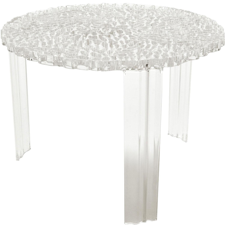 T-Table sofabord højt, transparent från Kartell - Køb møbler online ...