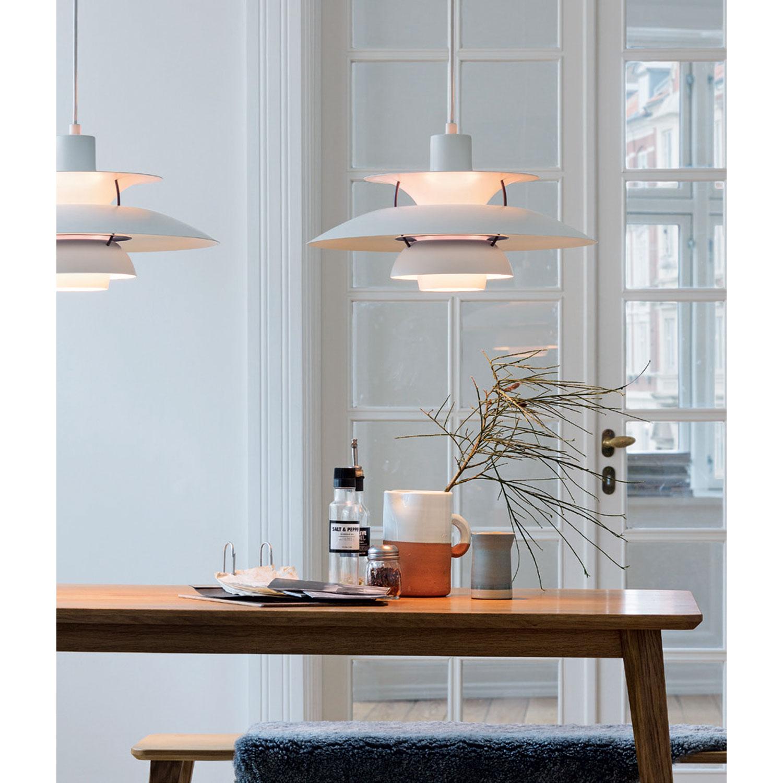 Ph 5 pendel, hvid – louis poulsen – køb møbler online pÃ¥ room21.dk