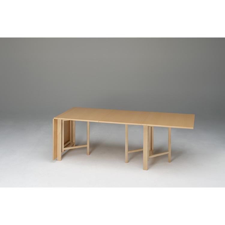 Foldebord bord, hvid laminat från bruno mathsson   køb møbler ...