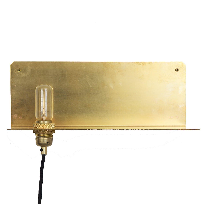 Wall frama lampe, messing – frama – køb møbler online pÃ¥ room21.dk