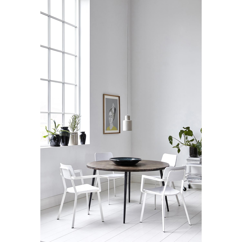 Club spisebord 130cm, sortbejdset – house doctor – køb møbler ...