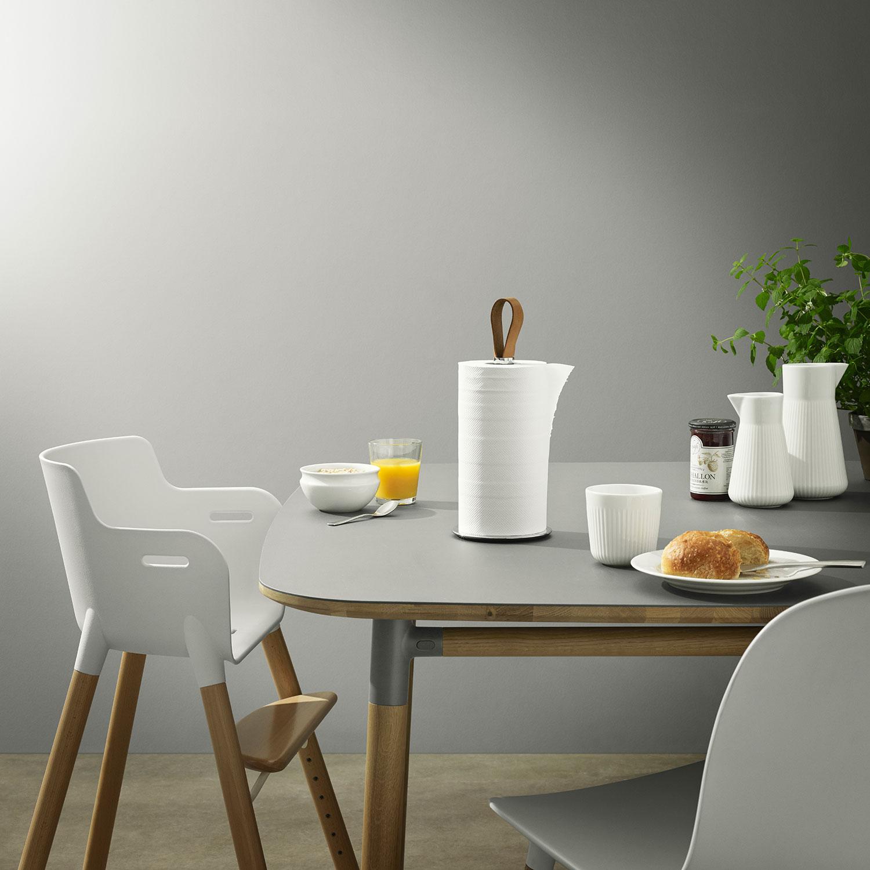Køkkenrulleholder, rustfri/læder – eva solo – køb møbler online pÃ¥ ...