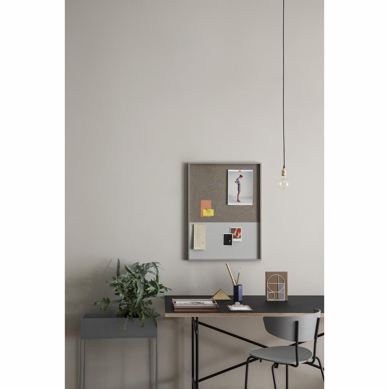 Frame opslagstavle, grÃ¥ – Ferm Living – Køb møbler online pÃ¥ Room21.dk