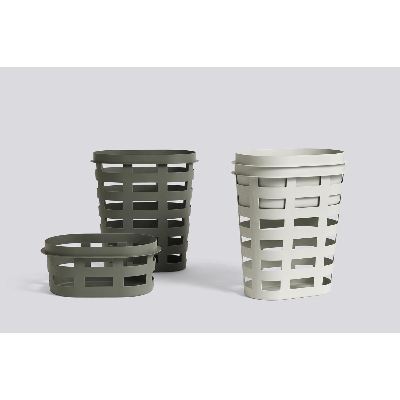Big game vasketøjskurv l, light grey – hay – køb møbler online pÃ¥ ...