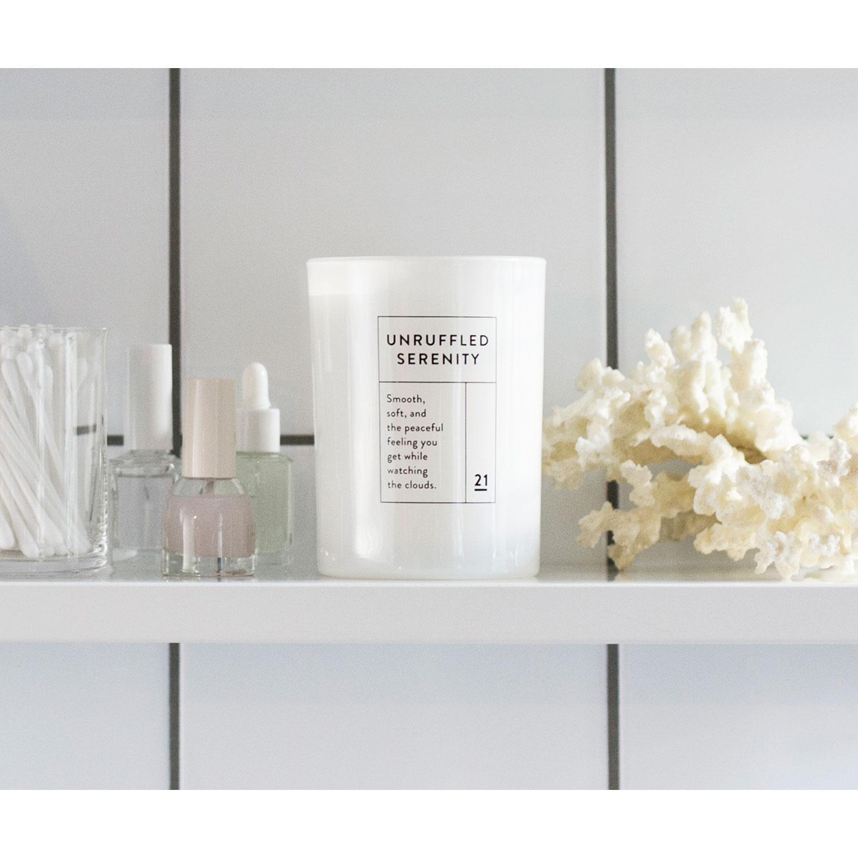 Unruffled Serenity doftljus – RUM21 – Køb møbler online på Room21.dk 6c27f1daf96e0